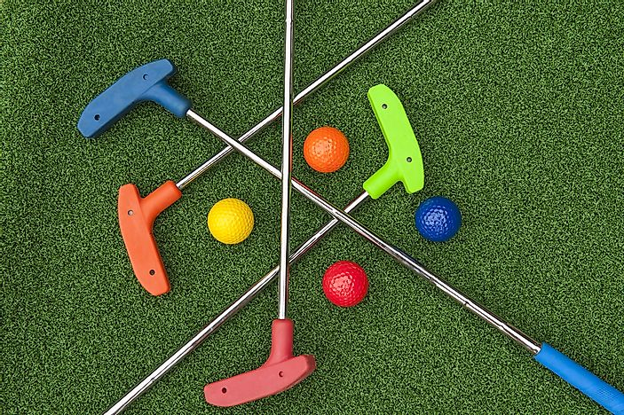 #2 Mini golf courses