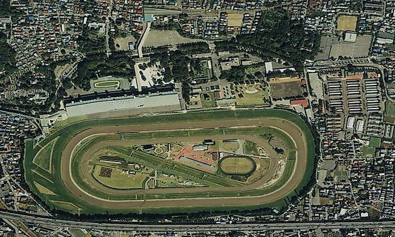 Horse Racing Venues By Capacity