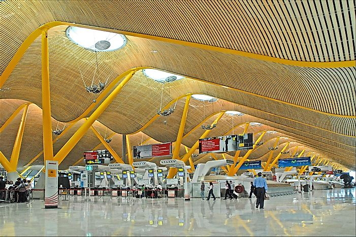 The Busiest Airports In Spain