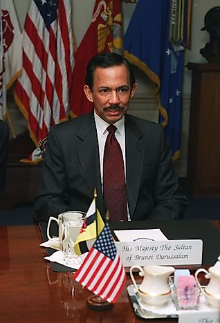 #4 Hassanal Bolkiah of Brunei - 48 Years, 109 Days