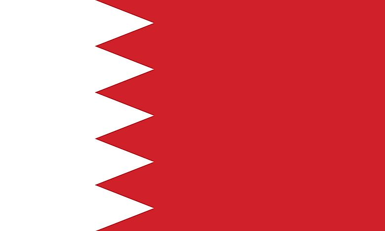 Bahrain Flag – Colors, Symbols, Meaning