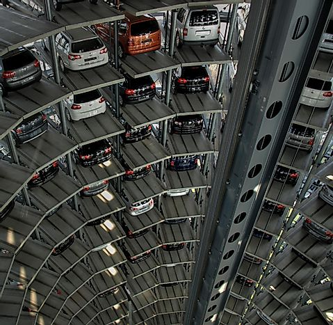 The Most Spacious Parking Lots In The World