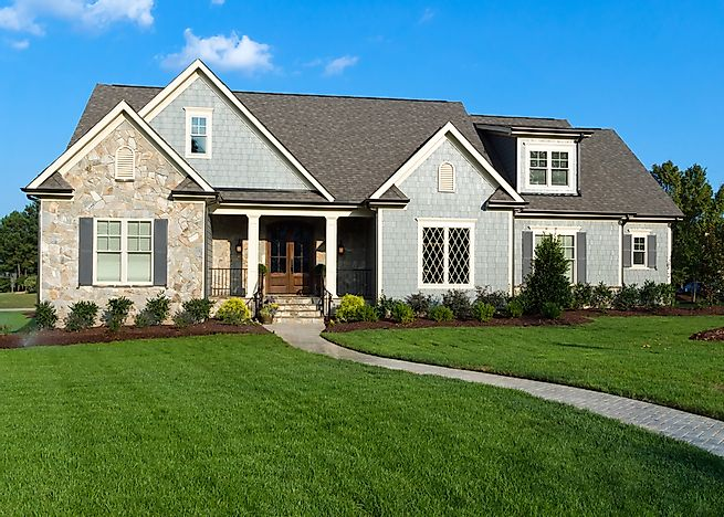 The house styles of the united states for Ranch style house characteristics