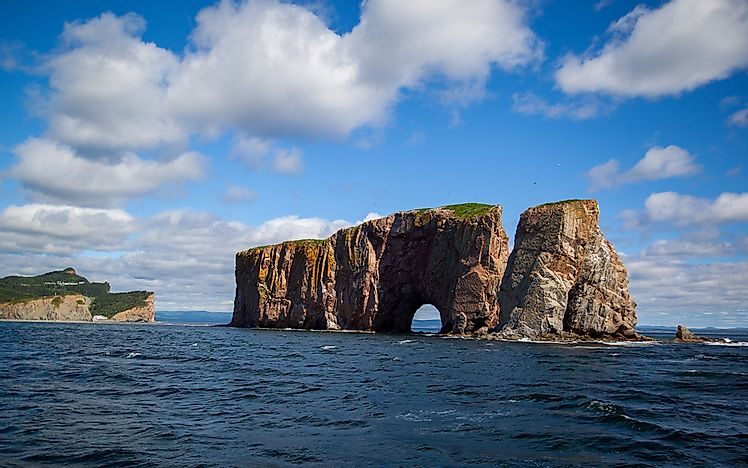 What is Unique About Percé Rock?