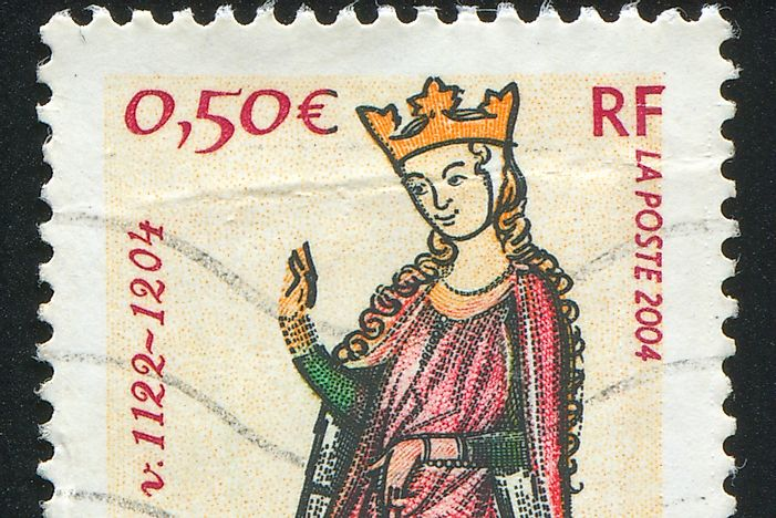 Eleanor of Aquitaine - Famous Figures in History