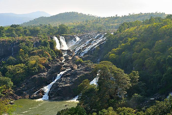 # 4 Shivanasamudra Falls