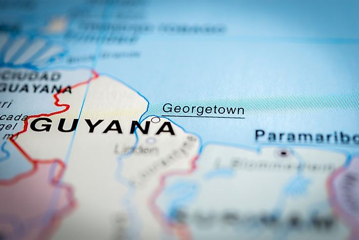 What Is the Capital of Guyana?