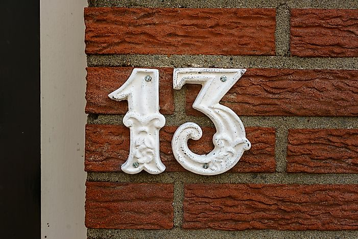 #11 Triskaidekaphobia (Fear of the Number 13)