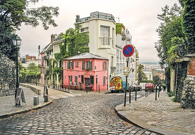 Montmartre, Paris, Île-de-France.