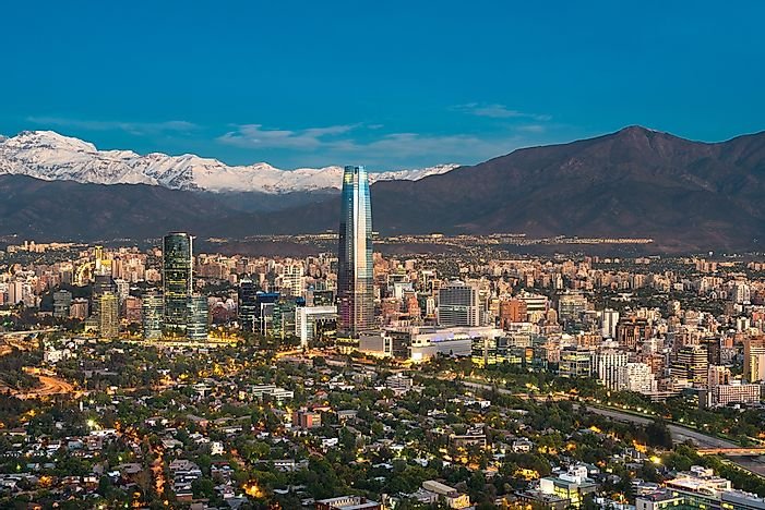 Major Cities In Chile