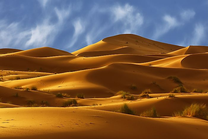 The Major Parts Of The Sahara Desert In Africa WorldAtlascom - African desert names