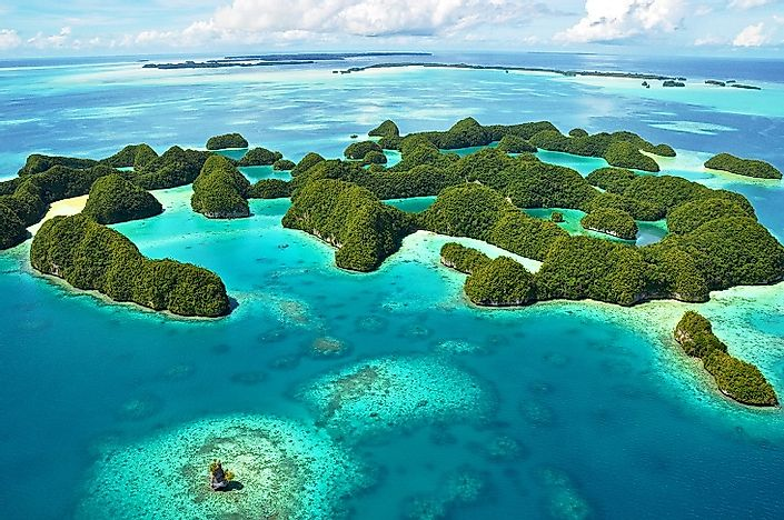 Rock Islands Southern Lagoon, Palau