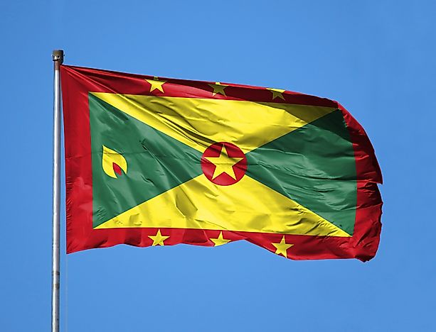 What Do The Colors And Symbols Of The Flag Of Grenada Mean