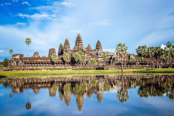 When Was Angkor Wat Rediscovered?