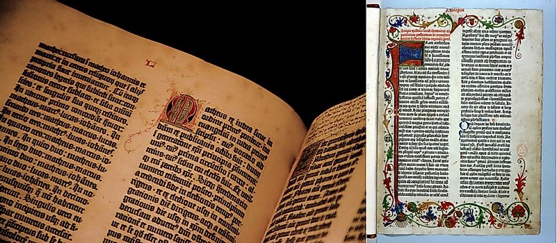 What Is The Gutenberg Bible? - WorldAtlas.com