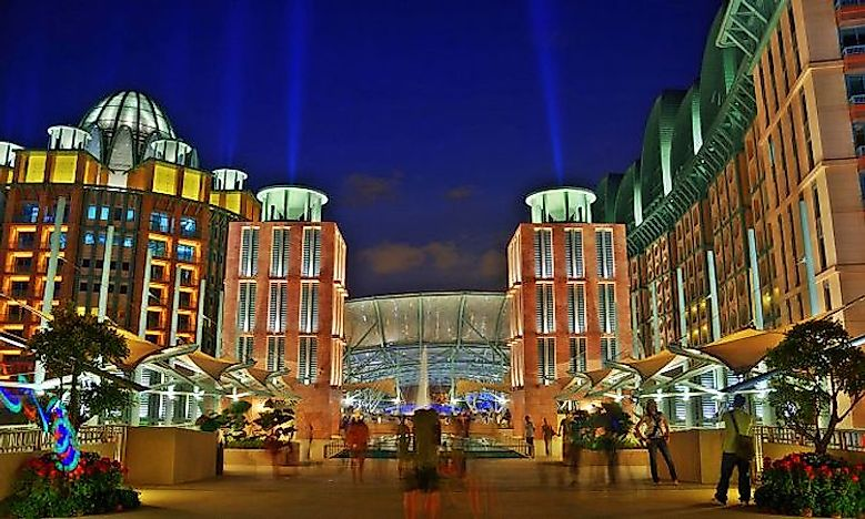 #2 Resorts World Sentosa -