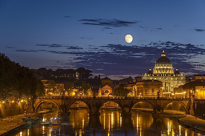 Walking around Rome at night is a romantic way to beat the crowds.