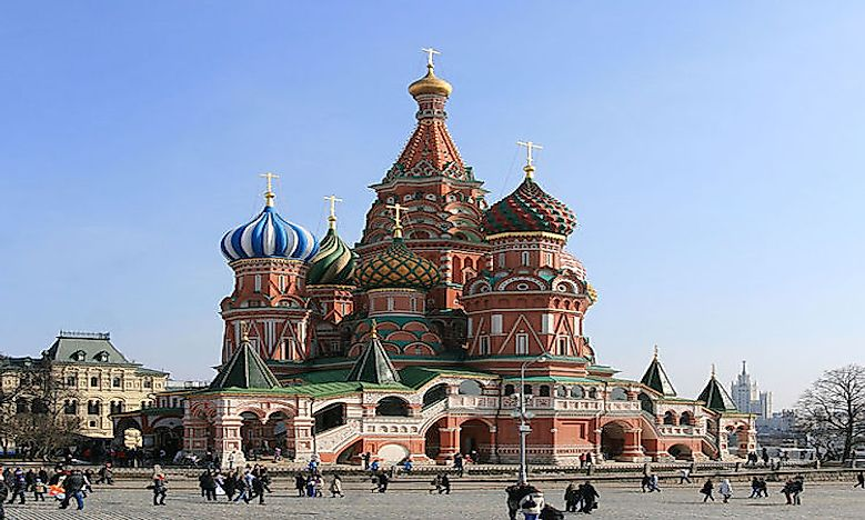 #5 Saint Basil's Cathedral -