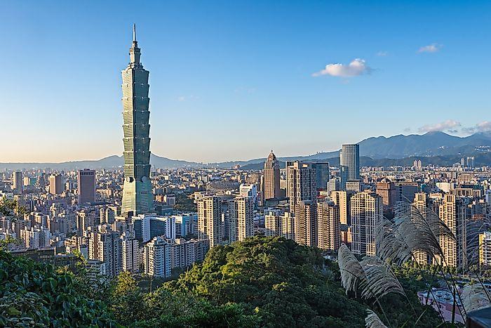 # 8 Tapei 101, Ταϊβάν - 1667 πόδια