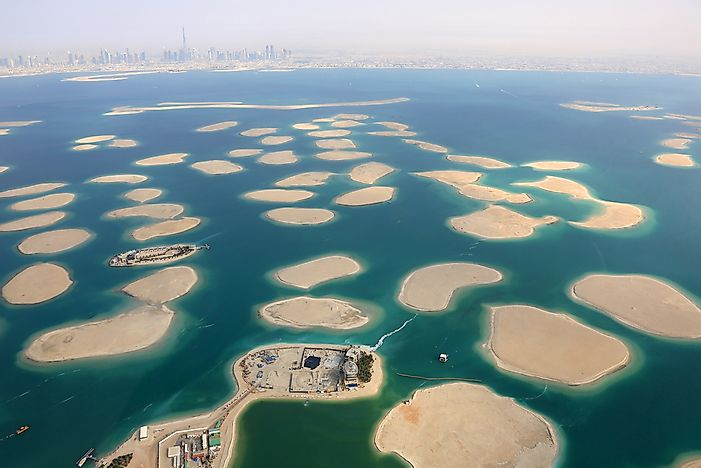 All but one of the World Islands in Dubai are not currently occupied.