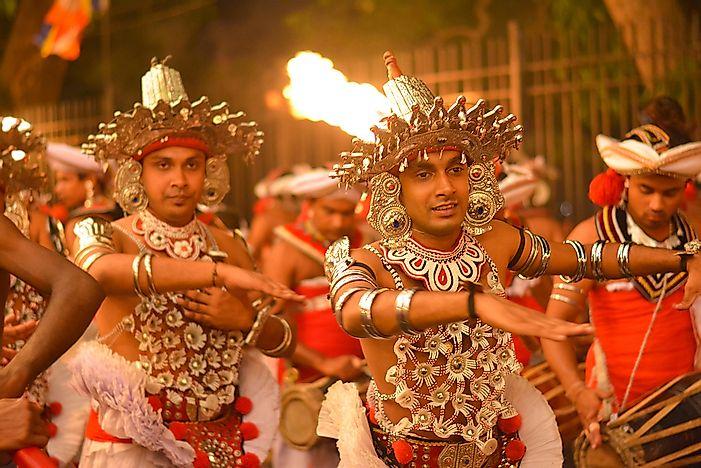 ethnic groups of sri lanka worldatlas com