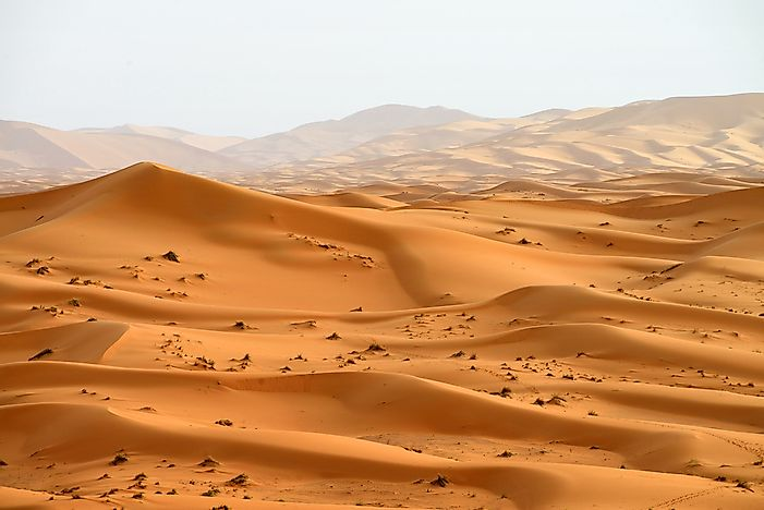 Which Countries Does The Sahara Desert Cover?