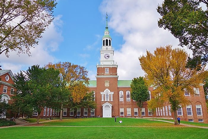 #2 Dartmouth College