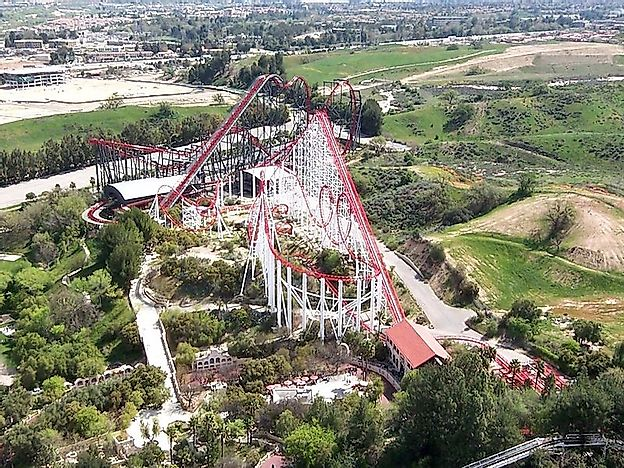 Amusement Parks With The Most Roller Coasters In The World
