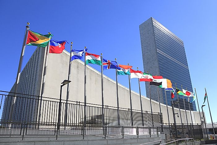Where Is The Headquarters Of The The United Nations Located?