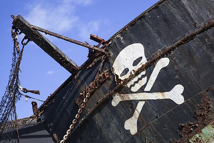 Modern Day Pirate Attacks By Country