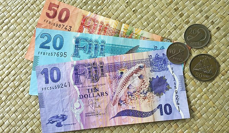What Is the Currency of Fiji? - WorldAtlas com