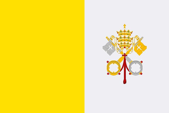 What Do the Colors and Symbols of the Flag of Vatican City Mean?