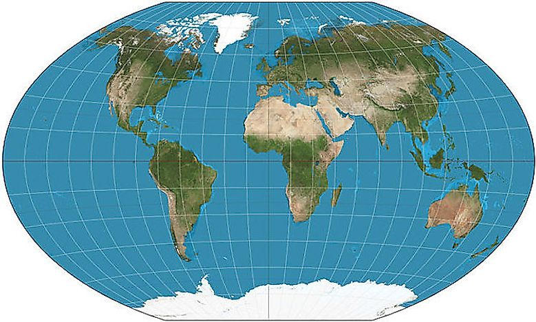 What Are the Different Types of Map Projections? - WorldAtlas.com Different Maps on
