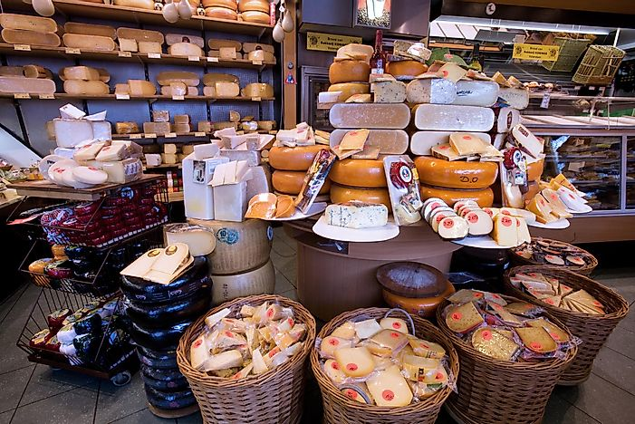 Top 20 Cheese Exporting Countries
