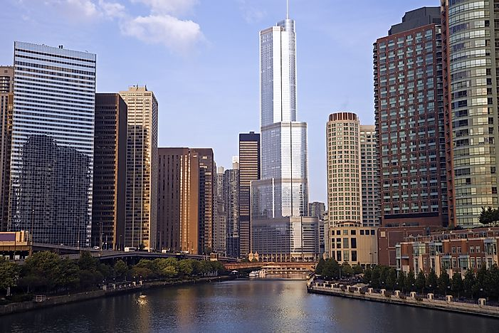 #4 Trump International Hotel and Tower, Chicago - 1,389 Feet