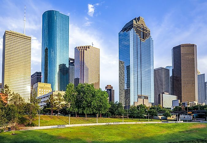 #4 Houston-The Woodlands-Sugar Land, Texas - Richest Cities in the US