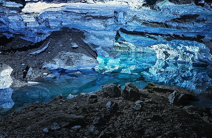 #3 The Kungur Ice Cave