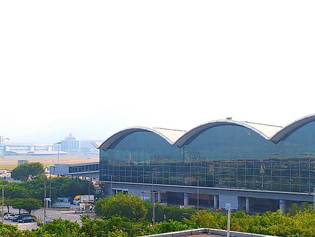 #10 Hong Kong International Airport - 63.1 Million Passengers - The Busiest Airport in the World
