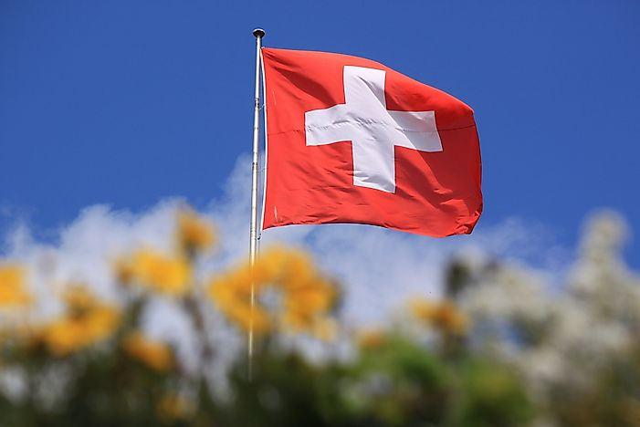 The Flag Of Switzerland Meaning Of Colors And Symbols Worldatlas