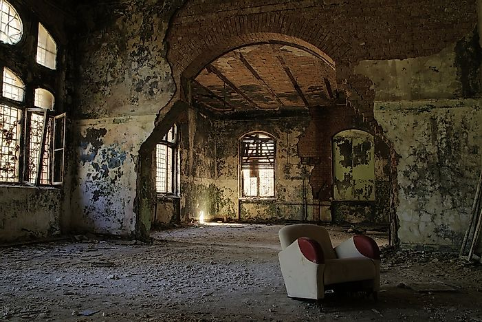 #10 Beelitz Military Hospital - Germany