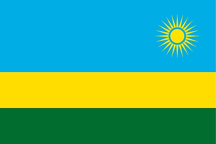What Do The Colors And Symbols Of The Flag Of Rwanda Mean?