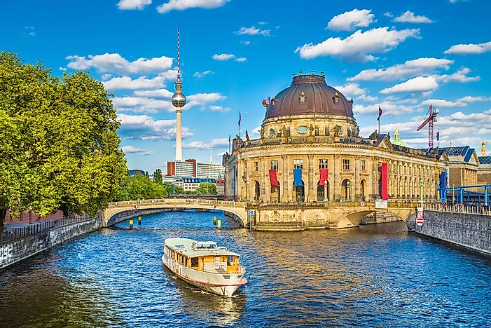 Museum Island, a UNESCO World Heritage Site.