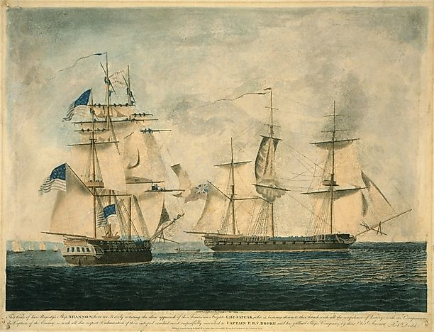 What Was The Chesapeake–Leopard Affair?