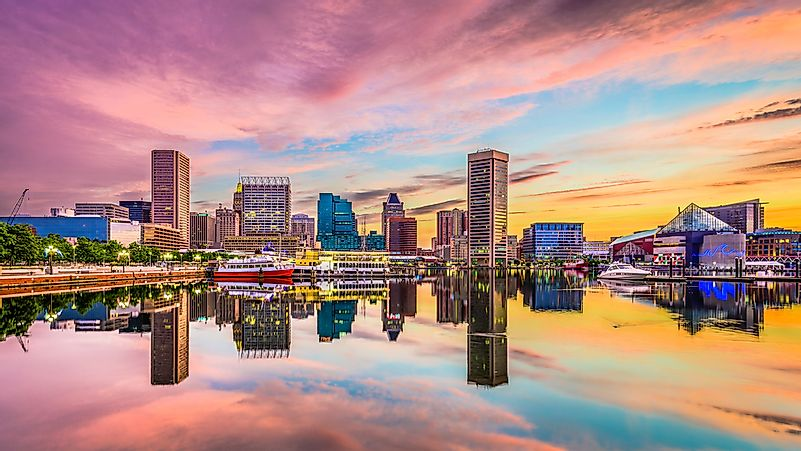 Tallest Buildings in Baltimore, Maryland