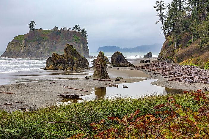 Ruby Beach is quintessential Pacific Northwest.