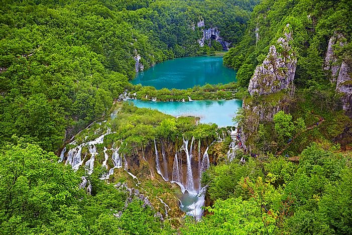 #10 Plitvice Lakes National Park, Croatia