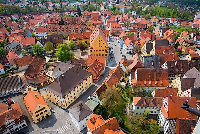 Nordlingen, Germany.