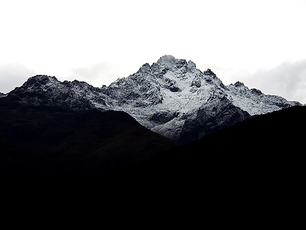 Highest Mountains In Venezuela