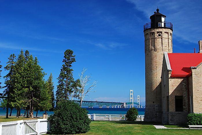 #6 Old Mackinac Point Light