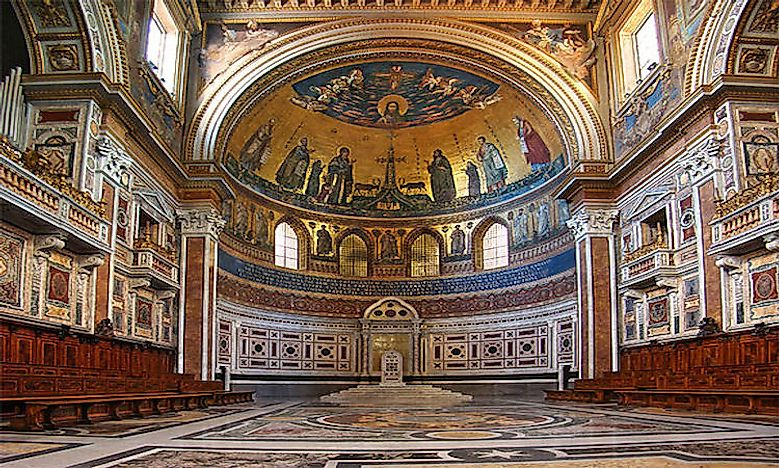 #2 Papal Archbasilica of Saint John in Lateran -